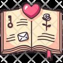 Book Love Library Icon