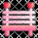 Bench Love Romance Icon