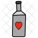 Love Bottle Valentines Day Bottle Potion Icon