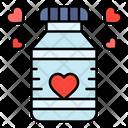 Love Bottle Love Bottle Icon