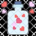 Love Bottle Heart Icon