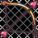 Love Arrow Bow Icon