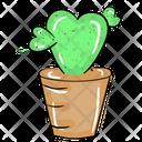 Love Cactus Icon