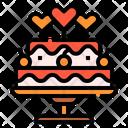 Love Dessert Sweet Icon