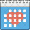 Love Calendar Icon