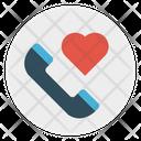 Call Phone Love Icon