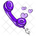Love Call Favorite Contact Love Communication Icon