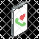 Love Call Love Communication Telecommunication Icon