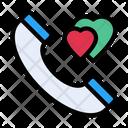 Call Love Phone Icon