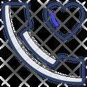 Love Call Romantic Call Love Communication Icon