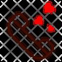 Call Love Heart Icon