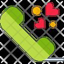 Love Call Call Romance Icon