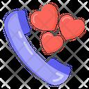 Lover Call Romantic Call Phone Call Icon