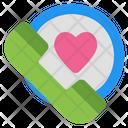 Love Call Phone Call Communication Icon