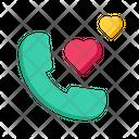Love Call Icon