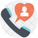 Calling Love Interaction Icon