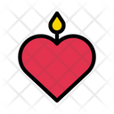 Candle Love Dating Icon