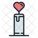 Love Candle Love Candle Icon