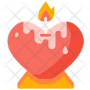 Love Candle Icon