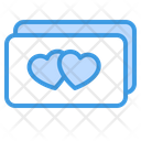 Love Card Love Card Cards Icon