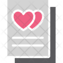 Love Card Love Letter Valentine Card Icon