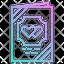 Love Card Invitation Icon