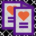 Love Card Greeting Card Love Card Icon
