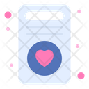 Love Card Woman Card Service Icon