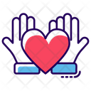 Love Care Friendship Care Love Protection Icon