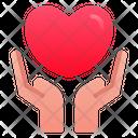 Love Care Hand Love Icon