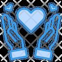 Love Hand Valentine Icon