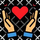 Hand Love Valentine Icon
