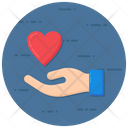Love Care Love Support Giving Love Icon