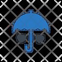 Umbrella Care Love Icon