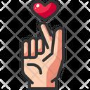 Favorite Finger Gesture Icon