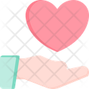 Give Love Hand Icon