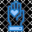 Love Care Love Hand Icon