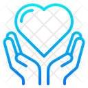 Love Care Caring Love Hands Icon