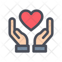 Love Care Heart Care Heart In Hand Icon