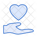 Love Care Giving Love Hand Icon