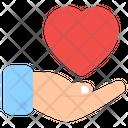 Love Care Passion Heart Care Icon