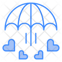 Love Care Insurance Day Icon