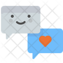 Love Chat Chat Chatting Icon