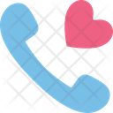 Love Phone Receiver Receiver Icon
