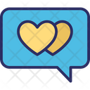Heart Love Chat Love Message Icon