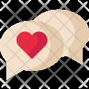 Chat Valentine Love Icon