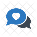 Lovechat Conversation Heart Icon