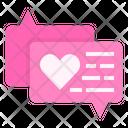 Chat Box Feedback Rating Icon