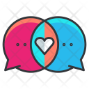 Conversation Love Chat Icon