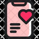 Love Article Romance Icon